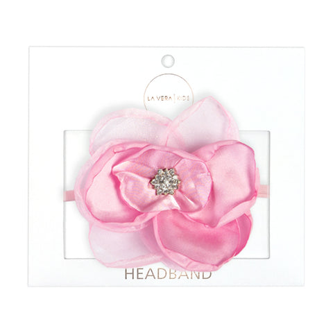 2x HEADBANDS | PINK + BLACK