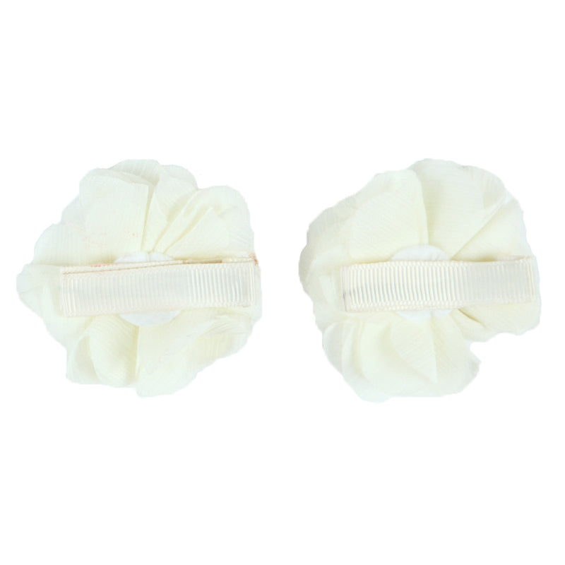 2x HAIR CLIPS | IVORY