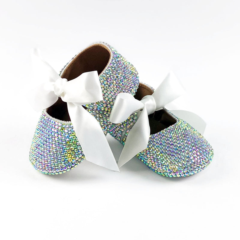BABY GIRL CRYSTAL SHOES | RAINBOW