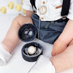 CRYSTAL PACIFIER BOX - BLACK