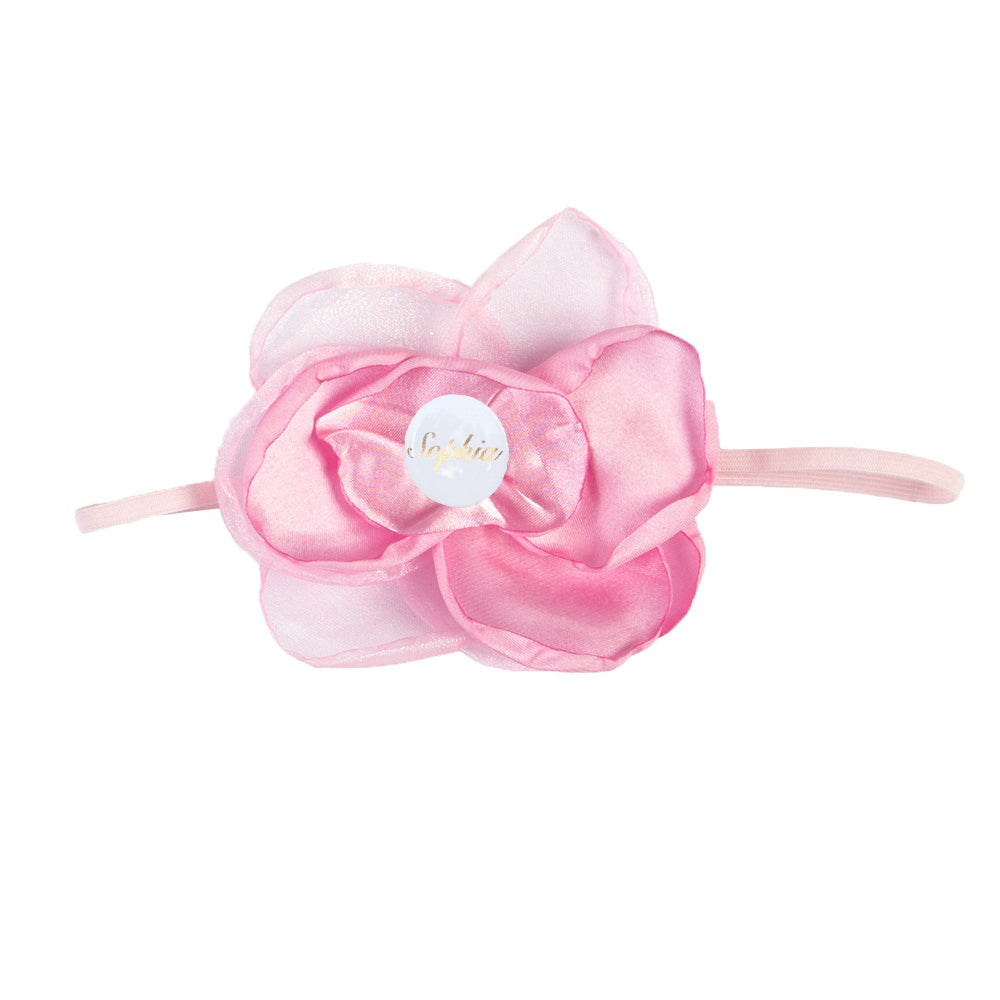 PERSONALISED (NAME) GIRLS HEADBAND - PINK