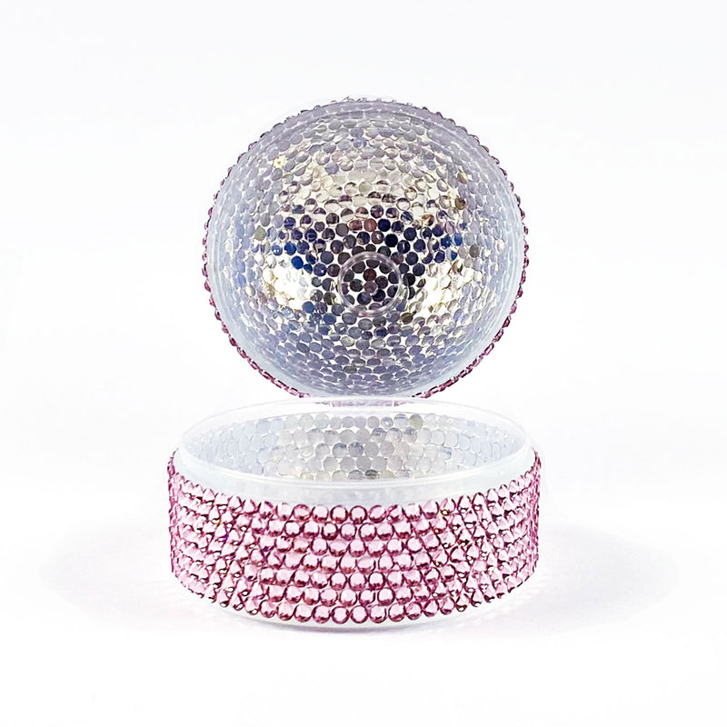 CRYSTAL PACIFIER BOX - PINK