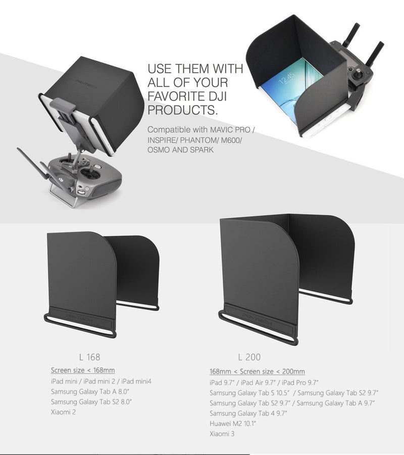 Accessories - IPad & Android Tablet Hood