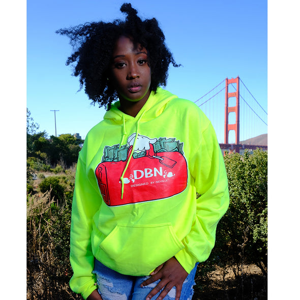 NEON SECURE THE BAG HOODIE