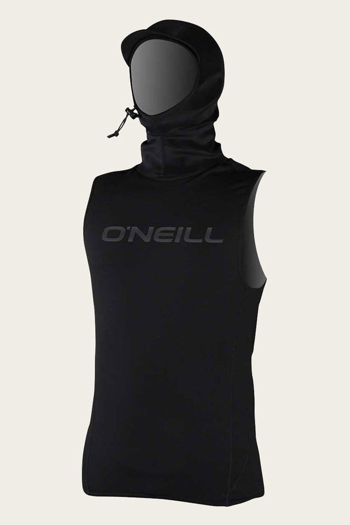 O'NEILL M THERMO VEST W/NEO HOOD BLACK
