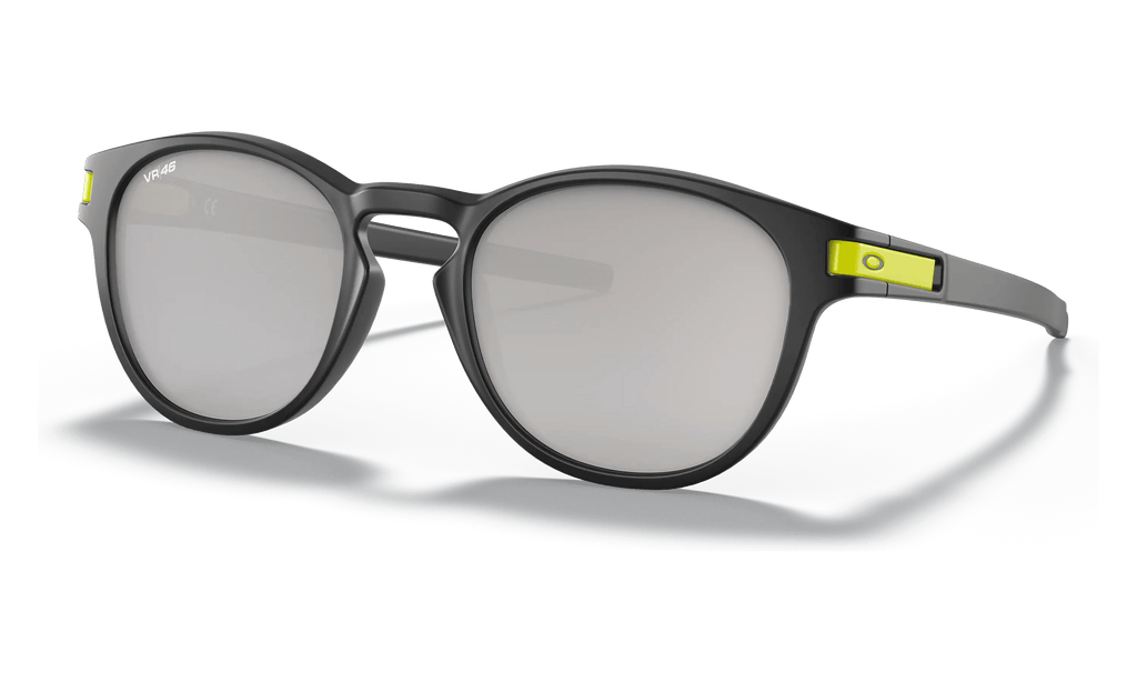 OAKLEY SUNGLASS LATCH MATTE BLACK | CHROME IRIDIUM