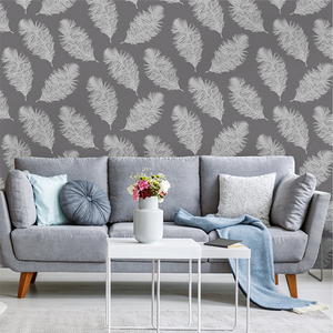 These light and fluffy feathers fall within our nature wallpaper murals collection and really add depth to any wall.
