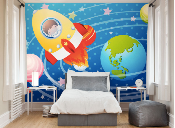 Astronaut Ready Made Wall Mural