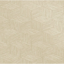 Neutral coloured geometric txtured linen is a great choice in any room.