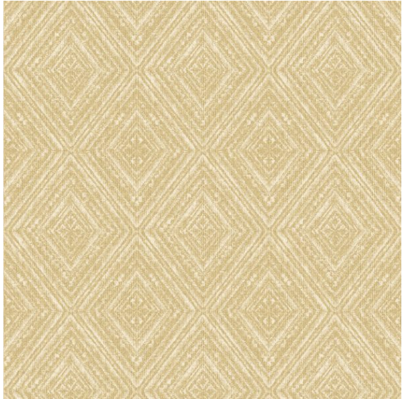 This soft effect of a diamond wallpaper with aztec pattern is so gorgeous for any living room, dining room and bedroom. This wallpaper is a stunning yellow and white colour combination.