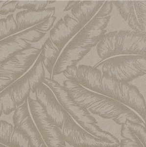 This gorgeous silky textured leaf wallpaper in brown is a brilliant bedroom decor and design if you are looking for a subtle, tropical wallpaper.