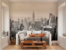 Monochrome colours make the Empire State building on the New York Skyline extra impressive in this Empire State Wall Mural design.