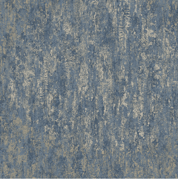 This Navy industrial style wallpaper has metallic and is a great choice for an imitation design.