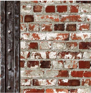 Brown Brick effect wallpaper design