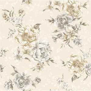 Josephine Neutral & Beige Wallpaper