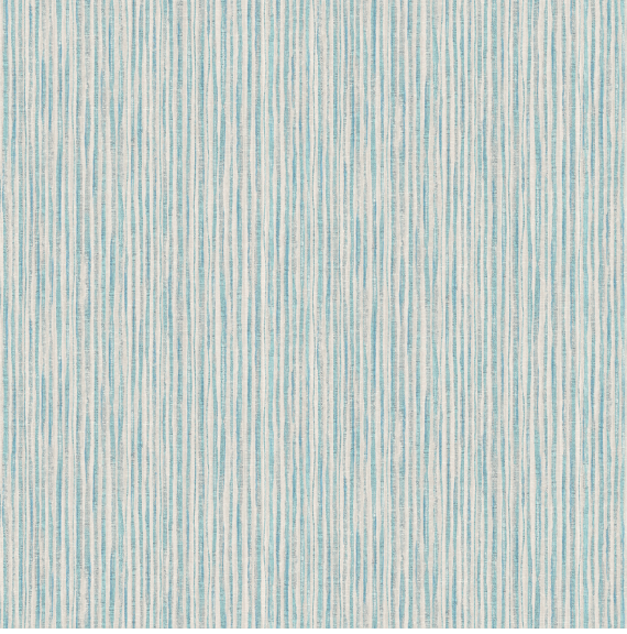 This fabric texture green blue wallpaper is adds depth and warmth to any room with its subtle thin stripes.