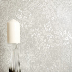 Majella Taupe Wallpaper