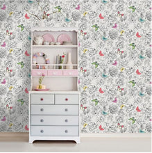 Primrose White & Multi Wallpaper
