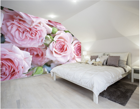 Rose Petals fancify wall mural