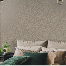 Elgin Taupe Wallpaper - Bakau