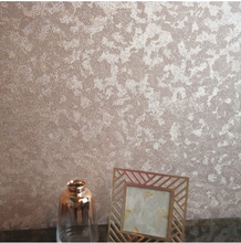 This Rose Gold wallpaper will sequin affect with make your walls come to life with shimmer and shine. The beautiful sequin affect is so warm.