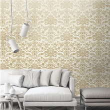 Glistening Damask Gold Cream