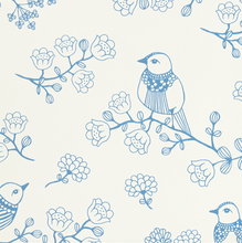 Majvillan Sugar Tree Blue Wallpaper