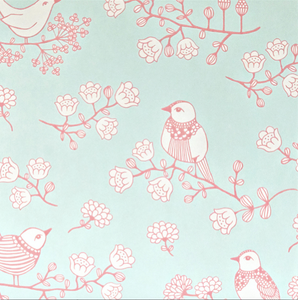Majvillan Sugar Tree Turquoise Wallpaper