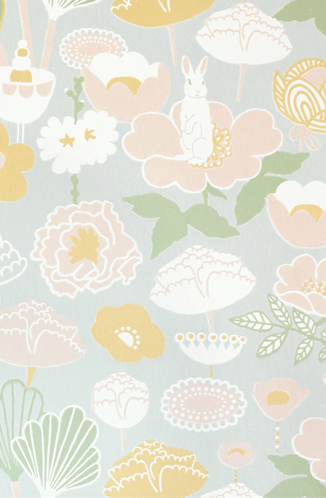 Majvillan Little Light Grey Wallpaper