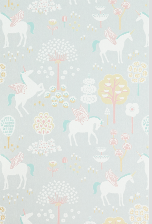 True Unicorn Grey Wallpaper - MJN