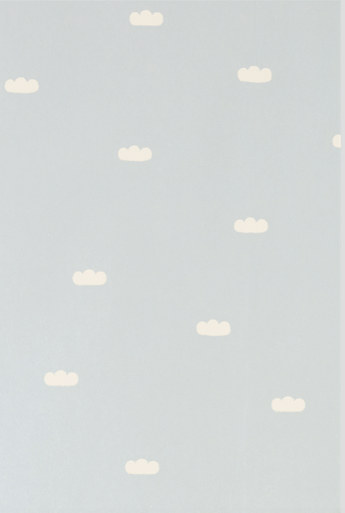 Majvillan Dreamy Clouds Blue Wallpaper