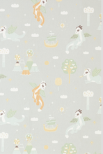 Majvillan Magical Adventure Grey Wallpaper
