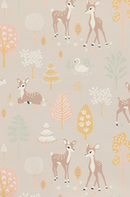 Golden Woods Lilac Wallpaper - MJN