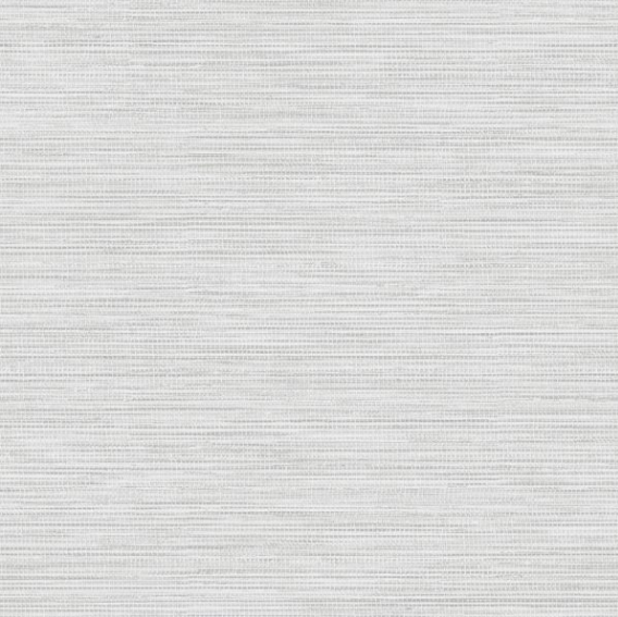This currently popular grasscloth wallpaper design resembles linen and has a gorgeous shimmer in the light.