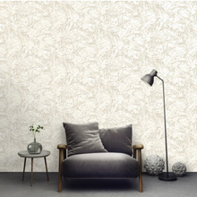 This neutral textured wallpaper design adds intrique and class to your walls. The intricate and soft patterned detail is great to add that extra something to your walls.