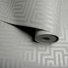 Sakkara Labyrinth Grey Wallpaper