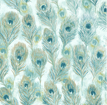 Elements Pinion Teal Wallpaper