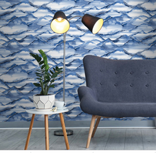 This makes up one of the leading wall covering designs for the lounge area and adds depth and texture.