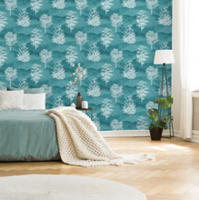 Patterdale Shetland Teal Wallpaper