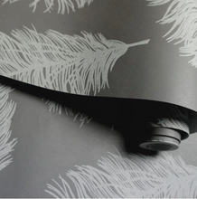 Patterdale Hawthorn Grey Feather Wallpaper