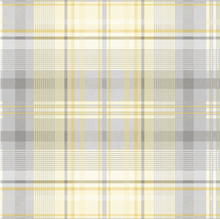 Patterdale Yellow/Grey Wallpaper
