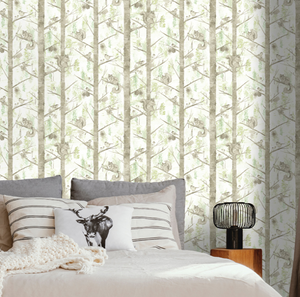 Kaleidoscope Grizedale Green Wallpaper