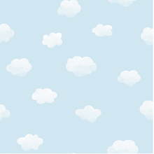 Cloudy Sky Blue Wallpaper
