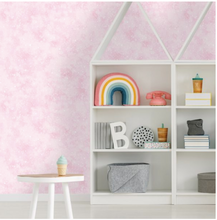 Iridescent Textured Pink Wallpaper