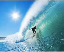 Adrenalin Surfer on Wave Wall Mural - (3.0m x 2.4m/ 3.5m x 2.8m)