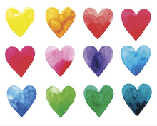 Colour My Heart Wall Mural - (3.0m x 2.4m/ 3.5m x 2.8m)