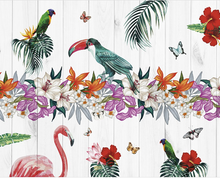Birds of Paradise Wall Mural - (3.0m x 2.4m/ 3.5m x 2.8m)