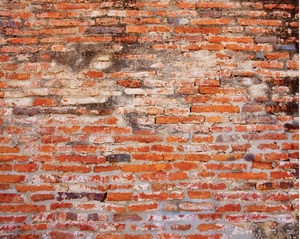 Red Brick Wall Mural - (3.0m x 2.4m/ 3.5m x 2.8m)