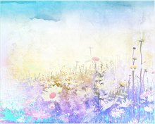 Hazy Meadows Wall Mural - (3.0m x 2.4m/ 3.5m x 2.8m)
