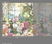 Utopia Multi Colour Wall Mural - (2.5m x 2.8m)